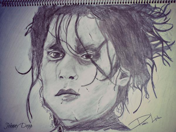 Johnny Depp by Mitsos
